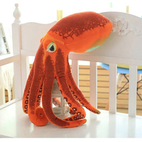 Baby Plush Toy Rattle Bell Cute Colorful Pirate Octopus Grasp Placate Gift 1pc