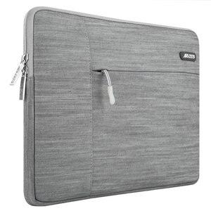 Image 2 - MOSISO gri dizüstü bilgisayar kol çantası Macbook hava 11 13 Pro Retina 13 15 inç için Lenovo/Dell/acer/HP/Xiaomi dizüstü bilgisayar çantaları