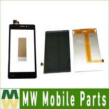 Купить 1 шт./лот 5,0 дюйма для Prestigio Wize C3 Оборудование для psp 3503 DUO Оборудование для psp 3503 отдельных Сенсорный экран и ЖК-Экран Дисплей черный цвет с лентой