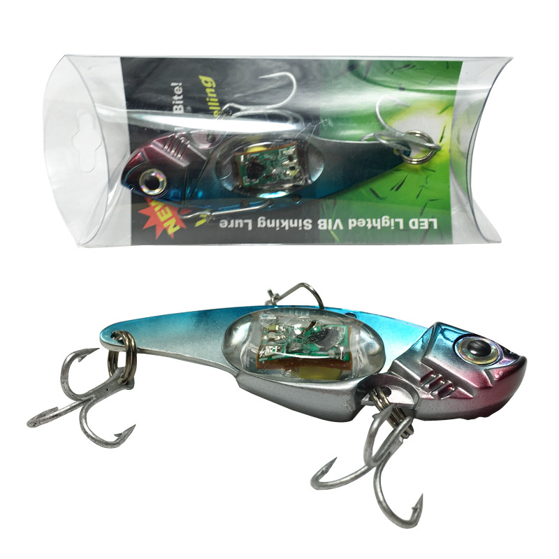Ocean Boat Fishing Emitting Light Bait Fish Implement Underwater Led Electronic False Lure Metal Artificial Bait Freeshipping светильник настенный divinare diana 8111 01 ap 1