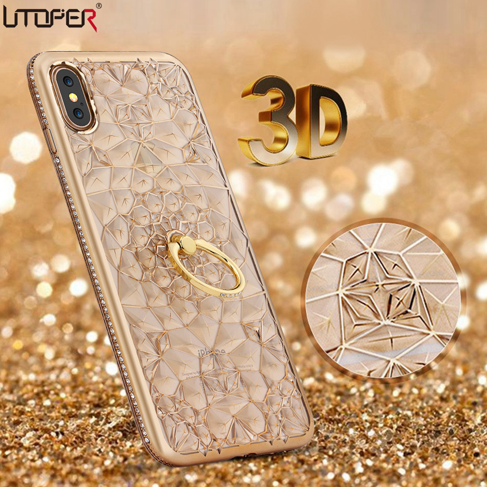 best iphone case luxury 3d phone cases for iphone x silicone soft back 1876