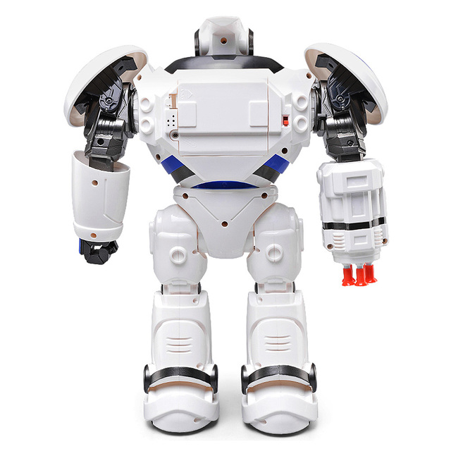New JJRC R1 Defenders Infrared Control Robot RTR Programmable Movement / Missile Shooting / Sliding Walking Dancing Mode Toys