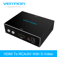 Vention HDMI к RCA/AV адаптер HDMI К AV S-Video R/L аудио конвертер 720 P 1080 P для ПК PS3 Xbox HDTV VCR DVD HDMI RCA