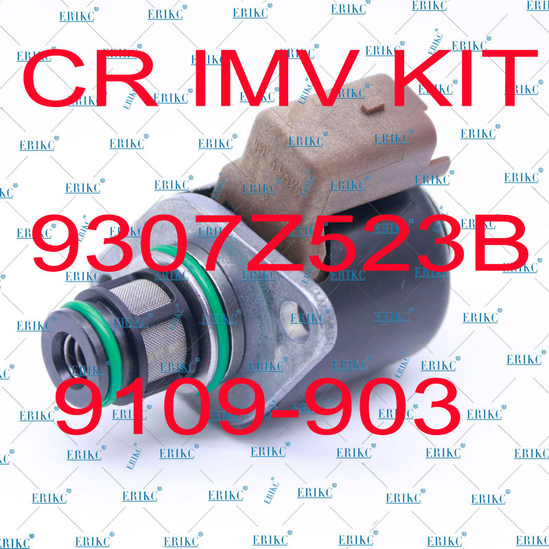 ERIKC Oil Pressure Regulator Inlet Metering Valve IMV 9109-903 9307Z523B 9109903 For KIA SSANGYONG 66507A0401 6650750001 original high pressure injection pump inlet metering control imv valve for hyundai i20 i30 ix20 1 1 1 4 crdi 28233374 331152a700