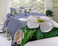 Groothandel luxe volwassen bed dekbedovertrek huishoudtextiel 3D Lelies/Rozen/tijger laken Jacquard edredon kingsize dekbedovertrek
