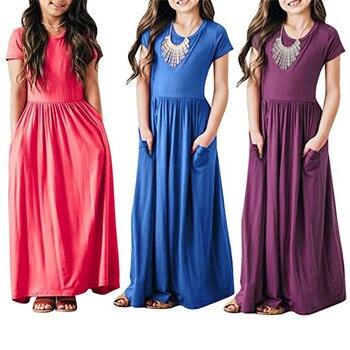 ecb5f32157 2019 Pascua carnaval tutú boda niñas vestido niños Vestidos para niñas  Vestidos fiesta princesa vestido niños ropa 3 6 10 año
