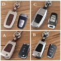 gift high quality aluminum leather car key case holer cover ring For Great Wall Haval Hover H5 H6/H2/H7/H1/H3 C30/C20/RM4 wingle