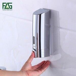 Image 3 - FLG distributeur mural de Double savon, pour shampoing, aide de douche, pour salle de bains, hôpital et hôtel, pas cher P113 02C