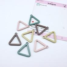10 pcs korea vintage drop statement earrings for women geometry triangle necklace pendant material diy ear jewelry accessories