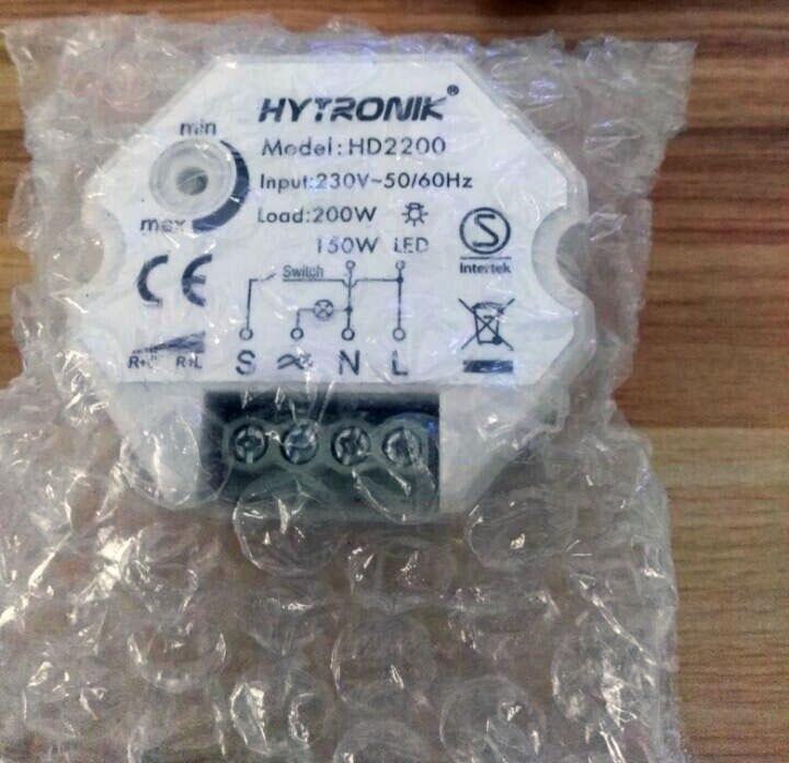 Кнопочный затемнитель задней кромки, кнопочный диммер с улучшенным затемнением HD2200