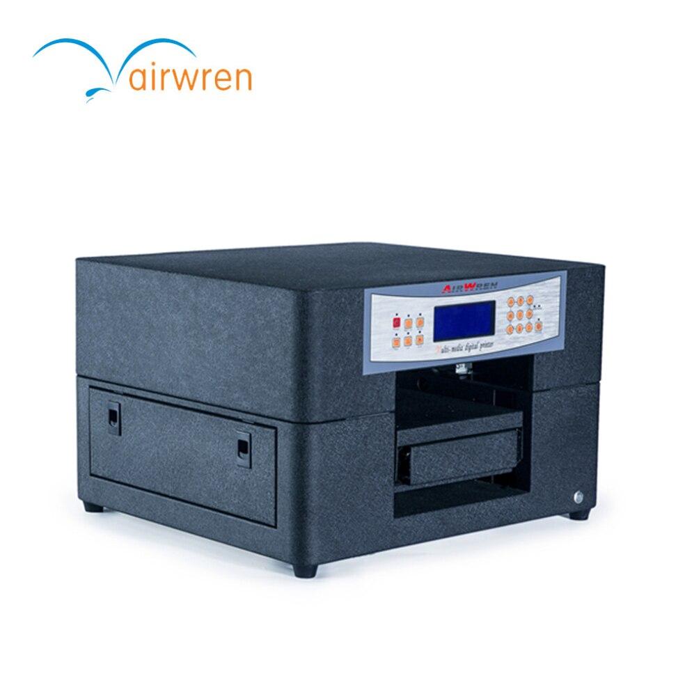 Digital Wedding Invitation Printing Machine High Quality UV Printer Machine  For AR UV Led Mini 6