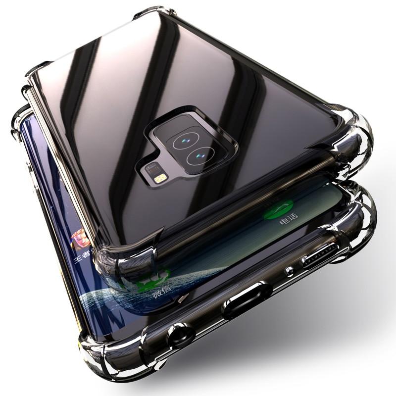 PZOZ Samsung Note 9 Case S9 S8 սիլիկոնային շքեղ - Բջջային հեռախոսի պարագաներ և պահեստամասեր - Լուսանկար 6