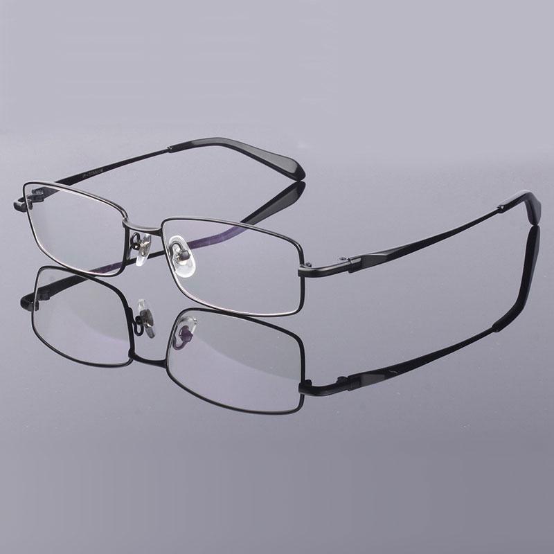 Eyeglasses Frame Spectacles Prescription Eyewear Pure Titanium for Men Optical-Glasses-Frame