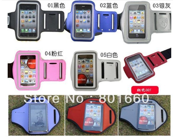 Armband Arm Strap Cover Case Holder for iPhone 5G