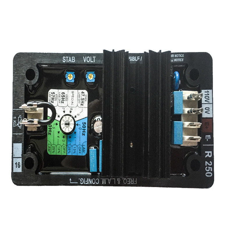 AVR R250 Automatic Voltage Regulator for Generator Alternator avr r250 automatic voltage regulator for generator alternator