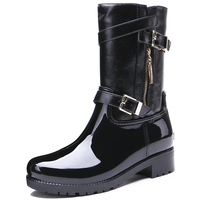 TONGPU WOMEN S RENATA RAIN BOOTS LADY S PVC OUTDOOR BOOTS CASUAL WINTER BOOTS FASHION BOOTS