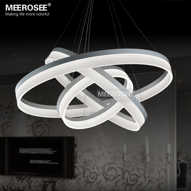 Modern led chandelier lamp ring new design led ring chandelier light modern led chandelier lamp ring new design led ring chandelier light indoor lighting led lustres acrylic lights in chandeliers from lights lighting on mozeypictures Gallery
