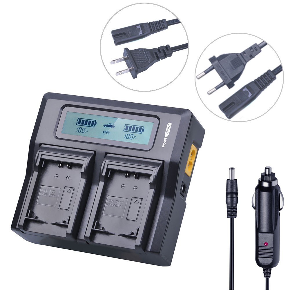 NP-FV100 NP FV100 NPFV100 FV100 LCD Rapid Battery Charger For SONY NP-FV30 NP-FV50 NP-FV70 SX83E SX63E FDR-AX100E Camera Battery