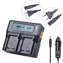 NP-FV100 NP FV100 NPFV100 FV100 ЖК-дисплей быстрого Батарея Зарядное устройство для SONY NP-FV30 NP-FV50 NP-FV70 SX83E SX63E FDR-AX100E Камера Батарея