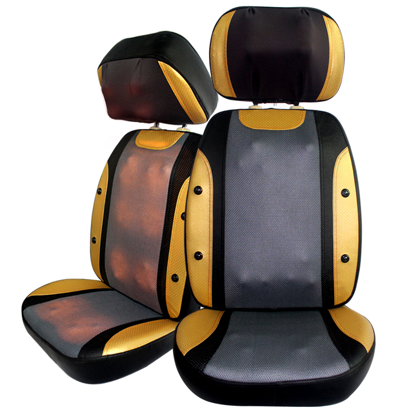 12kg Super big Heating massage cushion High quality Electric back roller massage chair multifunctional full body
