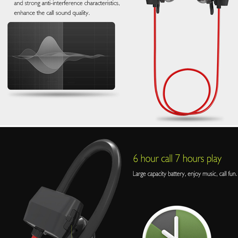 Sport Bluetooth Headset Earphone Headphone (7)