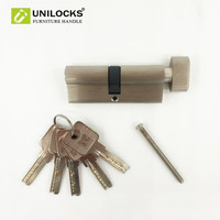 Pure Copper Thickening Single Open Door Lock Core Is 80 Mm Cylinder For 35mm To 45mm