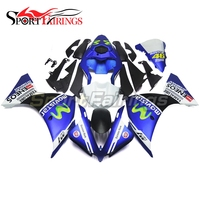 Complete Fairings For Yamaha YZF R1 12 13 14 2012 2013 2014 Injection ABS Plastic Motorcycle Fairing Kit ABS Cowling Blue 46