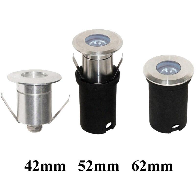 Outdoor led focus inbouwspot IP67 1W 3W Waterdichte LED Deck Stap Stair Ondergrondse grond Tuin Licht Muur floor Lamp