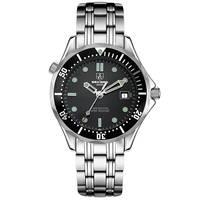 SEKARO Switzerland watches men luxury brand automatic mechanical watch sports diver luminous Water ripples stainless steel