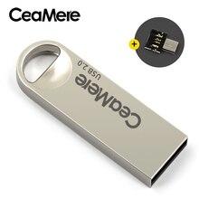 Ceamere C1 Đèn LED Cổng USB 8GB/16GB/32GB/64GB Bút USB 2.0 Đèn Led Thẻ Nhớ Đĩa USB 512MB 256MB