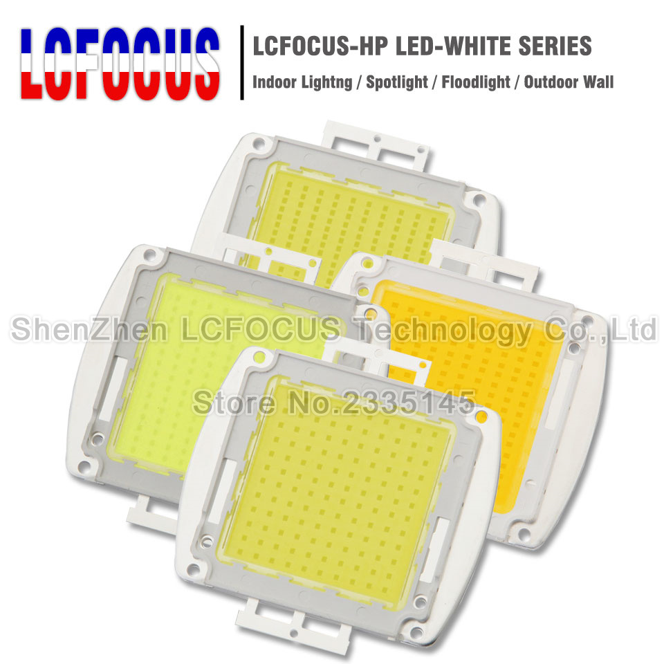 High Power LED SMD COB Bulb Chip 120W 150W 200W 300W 500W Natural Cool Warm White 120 150 200 300 500 W Watt for Outdoor Light-in Light Beads from Lights & Lighting    1