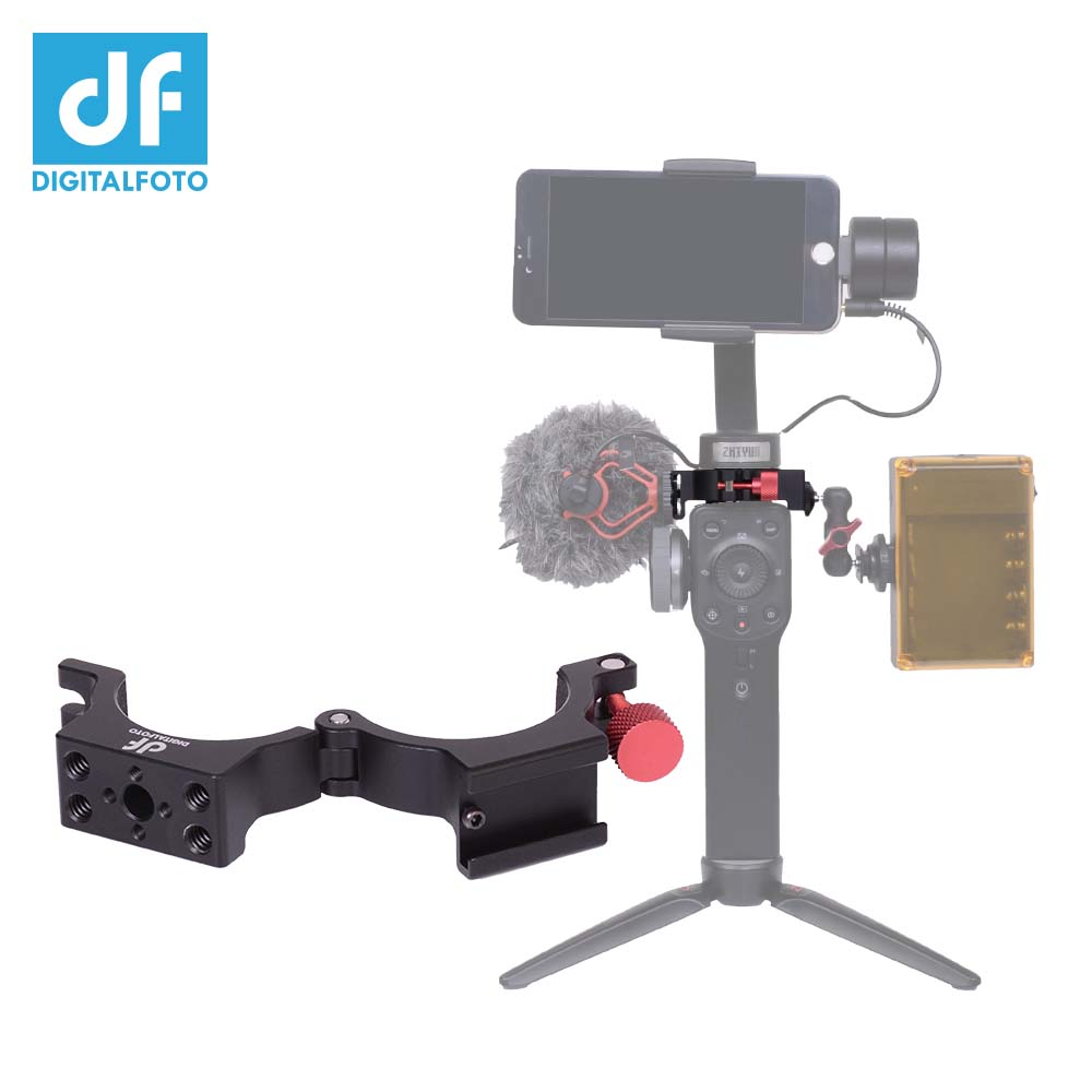 все цены на HOT DF DIGITALFOTO ANT Adapter Ring with Cold Shoe for Zhiyun Smooth 4 Gimbal Mounting Microphone/LED Light/Monitor Filmmaker онлайн