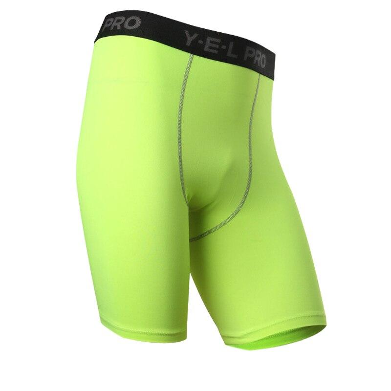 yd logo custom gym leggings men crossfit shorts compres