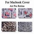 "For Apple Macbook Air Pro Retina 11 12 13 15 inch 11.6"" 12"" 13.3"" 15.4"" Fashion Flag Leopard Zebra Hard Cover Case"