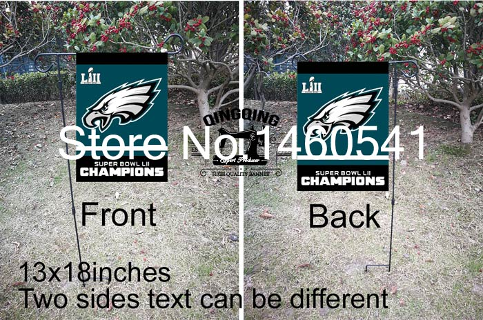 d51b4b9f368 Philadelphia Eagles Super Bowl Champions Flag 3ft x 5ft Polyester NFL Team  Banner No.4 96  144cm QingQing Flag-in Flags