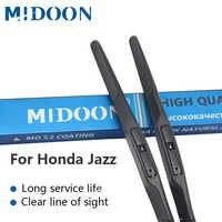 MIDOON щетки стеклоочистителя гибридная ветровое стекло дворники для Honda Jazz fit крюк руки Модель Год от 2002 до 2016