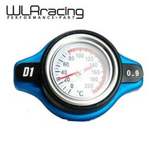 WLRING STORE- D1 Spec RACING 0.9BAR Thermost Radiator Cap COVER + Water Temp gauge Cover For TOYOTA,MITSUBISHI,LEXUS WLR-DRC09