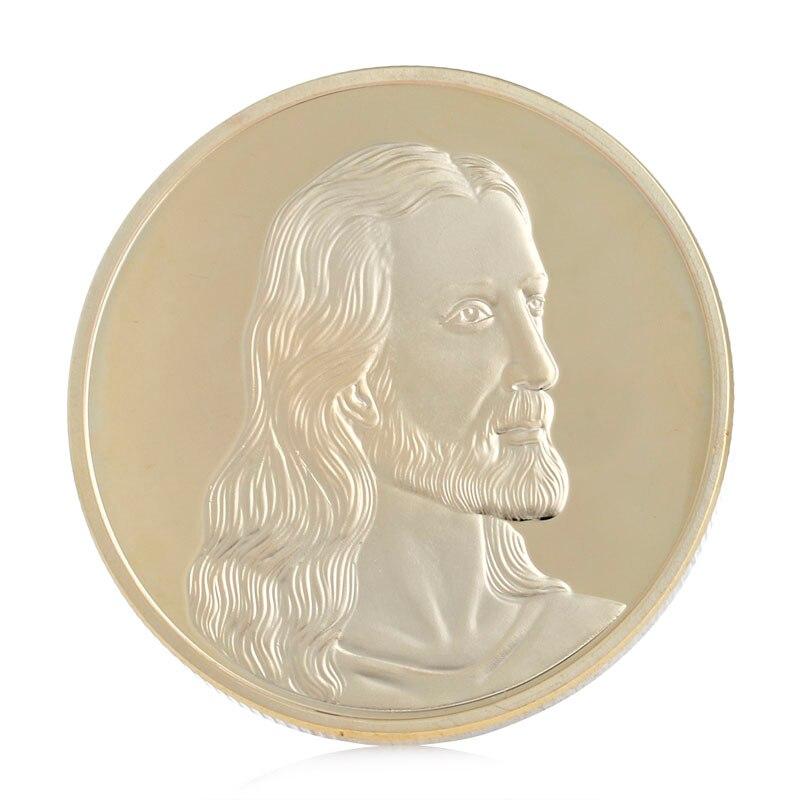 Рождественская Коллекционная монета с золотым покрытием, памятная монета без денег