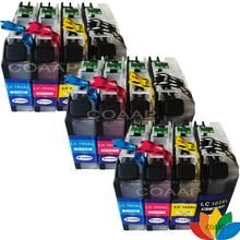 12 Pack Compatible Brother LC103 Ink Cartridge For DCP-J152W MFC-J245 MFC-J285DW MFC-J4310DW MFC-J4410DW Printer 1 set refillable ink catridge for brother lc161 lc 161 for brother dcp j152w j752dw mfc j245 470dw 650dw j870dw with newest arc
