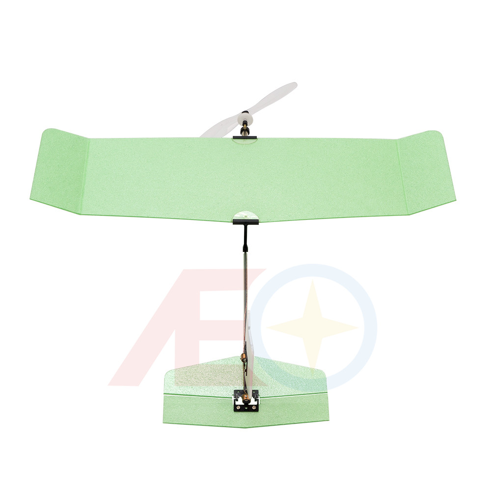 2019 New Indoor Micro Ultra-light Foam Airplane Ice Cream Wingspan 224mm Flying Weight only 6g PNP Version