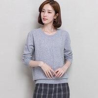 2017 New Cashmere Sweater Women 100 Purel Cashmere Pullover Female Long Sleeve Basic Shirt