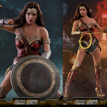 For Collection 1/6 Scale Hot Toys MMS451 Justice League Full Set Wonder Woman Deluxe Version Action Figure Model Fans Gifts on sale 1 6 scale colletible brad pitt fight club action figure model red jacket version with cigarette full set figures