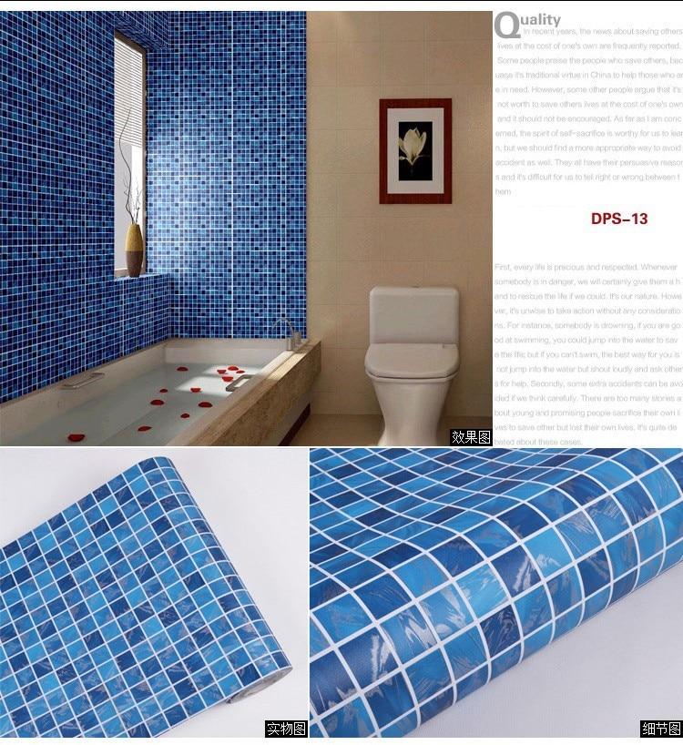 Wallpaper Over Tile Wall | Tile Design Ideas
