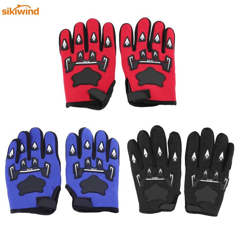 1 Pair Full Finger Cycling Gloves Anti Slip Men Sports Bicycle Glove Gel Pad Breathable Motorcycle MTB Mountain Road Bike Gloves