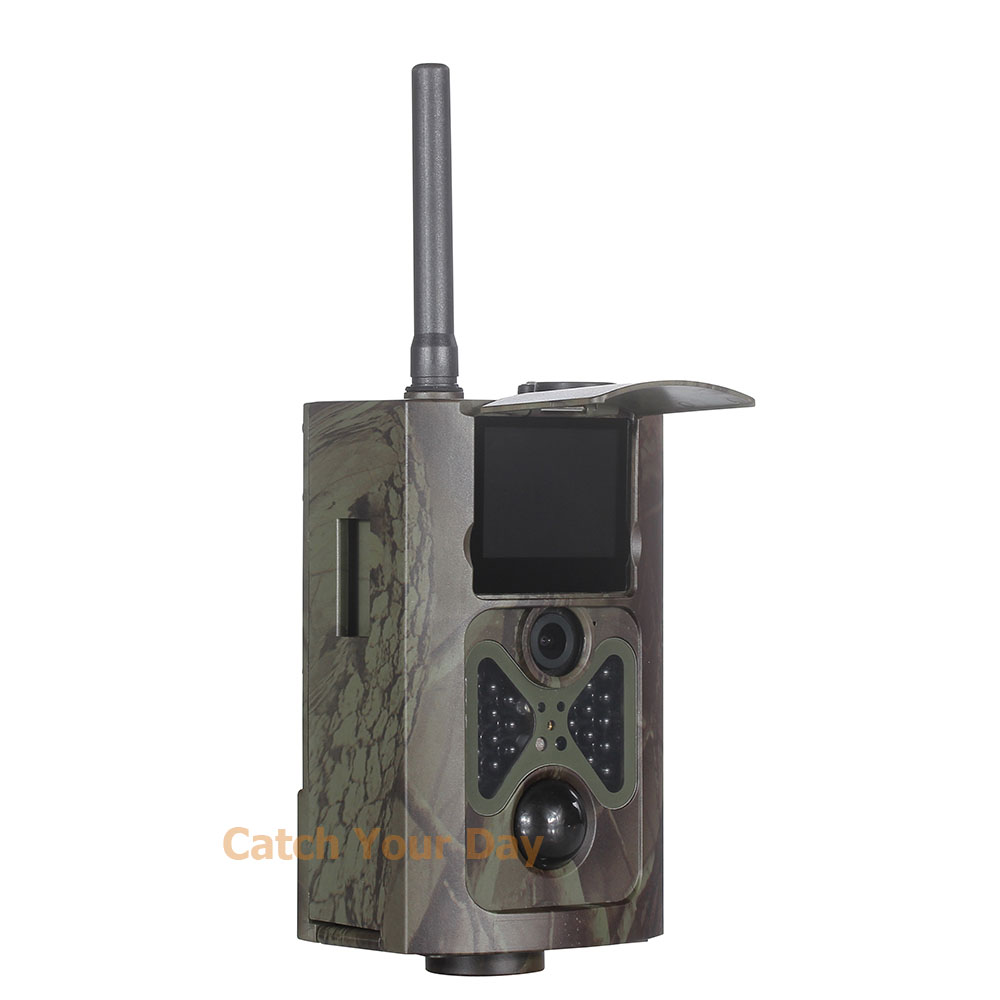 HD 1080P Hunting Camera GSM MMS SMTP Night Vision Infrared Wildlife Game Trail Camera HC500M 2015 newest original mini pico portable full hd 3d projector hdmi home theater beamer multimedia proyector full hd 1080p video