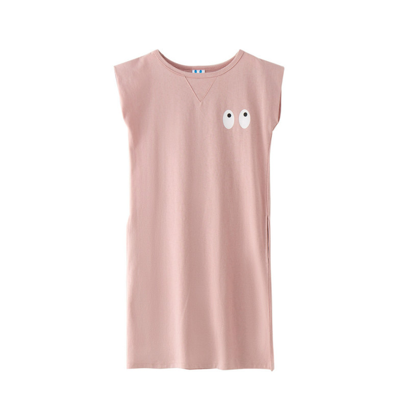 Tanggetu 2018 New Spring Girl's Dress Pure Cotton Cartoon T-shirt Cute A Big Boy's Vest In Summer Clothes Child Clothing 2017 new spring women maternity t shirt