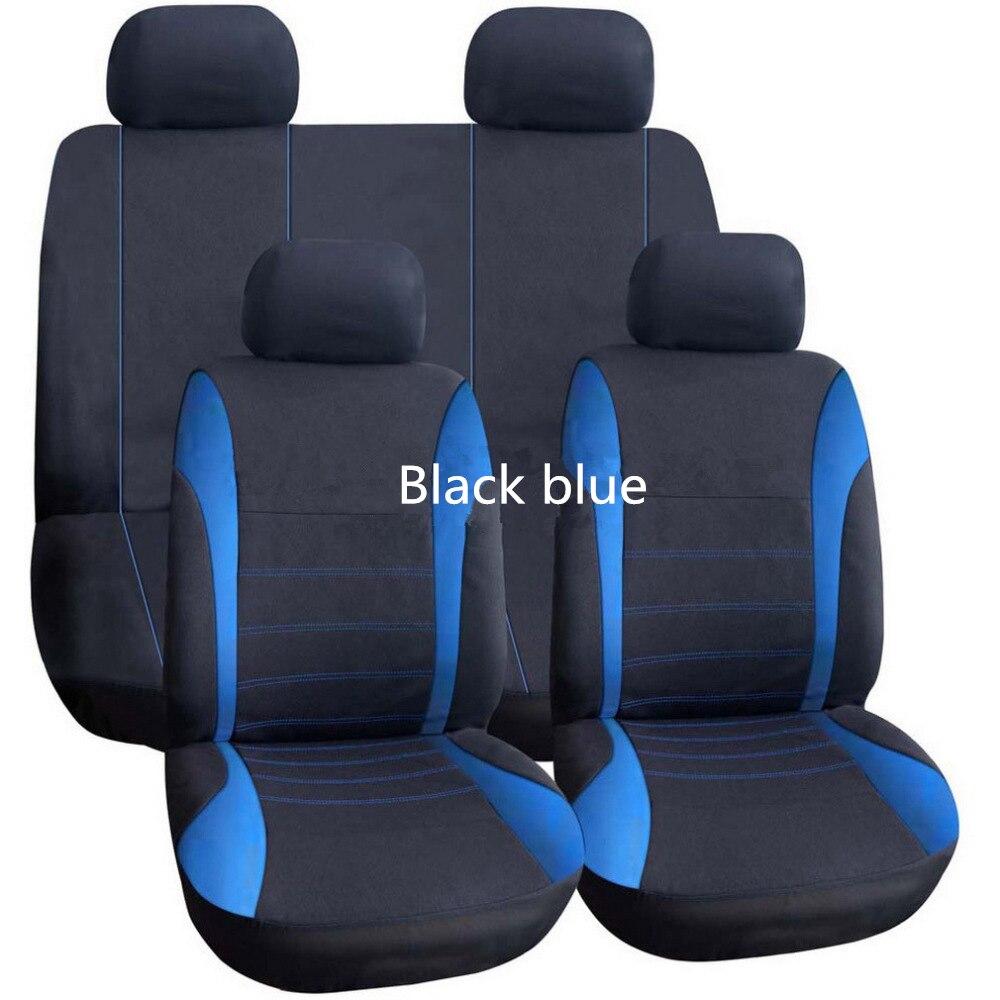 Qiuyang автомобиля 5 сидеть 9 компл. из дышащей сетки Seasons универсальный крышка легко установить Бесплатная доставка