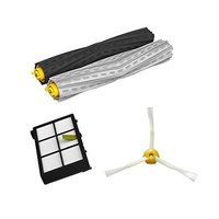 Free Post Debris Extractor Set HEPA Filter Side Brush Parts Kit For IRobot Roomba 800 Series