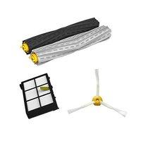 Free Post Debris Extractor Set HEPA Filter Side Brush Parts Kit For IRobot Roomba 800 Series