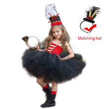 18897b06493 Christmas Party Nutcracker Cosplay Tutu Dress Set for Girls Kids Toy Soldier  Halloween Holiday Dress Costume Girl Winter Clothes